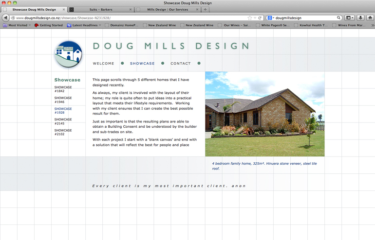 Doug Mills website