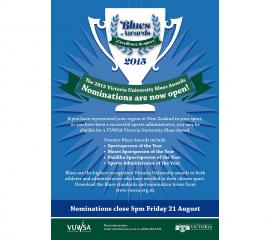 Blues Awards A3 poster13W
